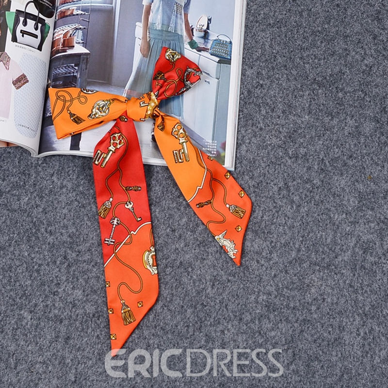 Ericdress Key Printing Bag Scarf for Women