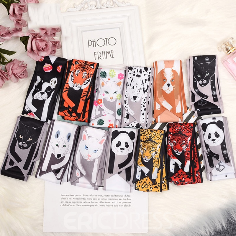 Ericdress Funny Animals Bag Scarf For Women Body