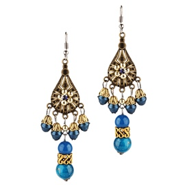 Ericdress Handmade Beads Drop Earrings For Women