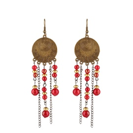 Ericdress Handmade Beads Bohemian Style Holiday Fashion Earrings For Women