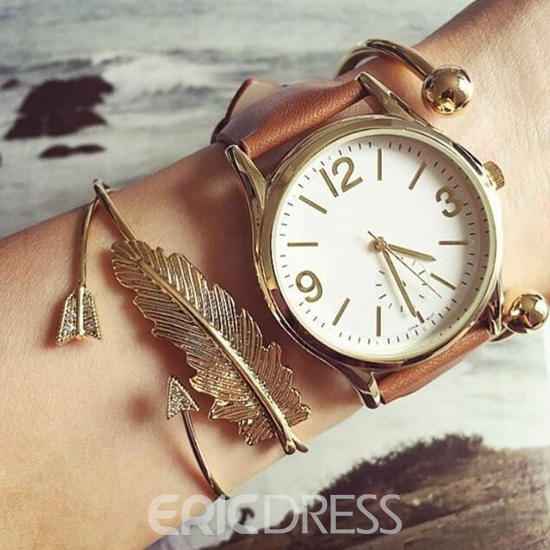 Ericdress Leaf Arrows Bracelets For Women