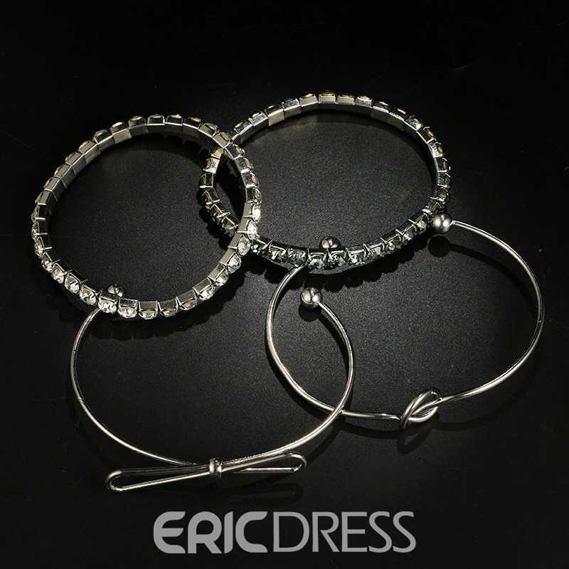 Ericdress Bowknot Alloy Bracelet For Women