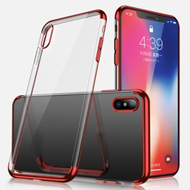 ericdress transparente suave funda de móvil iphone x