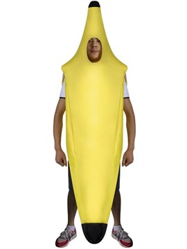 Ericdress Asymmetric Banana Humorous Halloween Costume