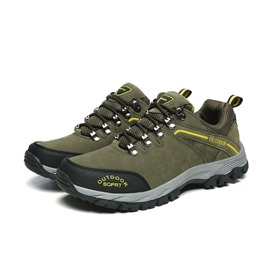 Ericdress Cowhells Lace-Up Outdoor Non-Slip Breathable Men's Sneakers
