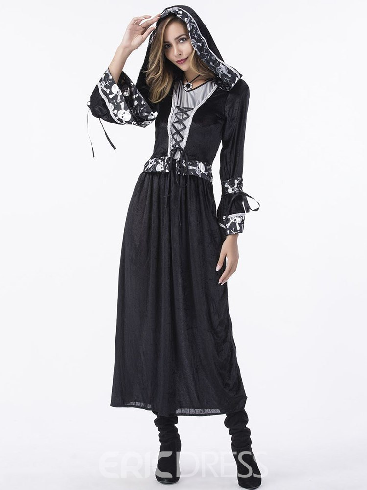 Ericdress Western Long Sleeve Witch Halloween Costume