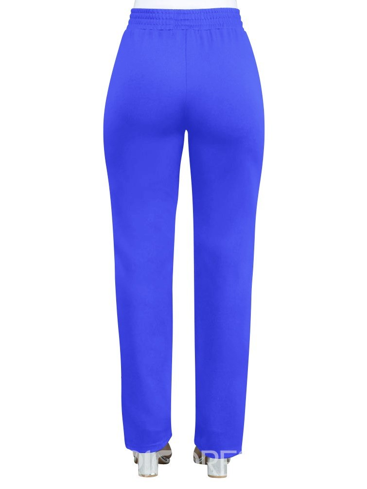 Ericdress Slim Color Block Women's Harem Pants