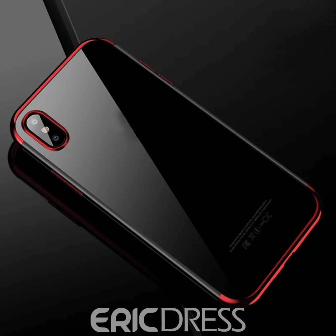 Ericdress Transparent Soft Mobile Phone Case Iphone X