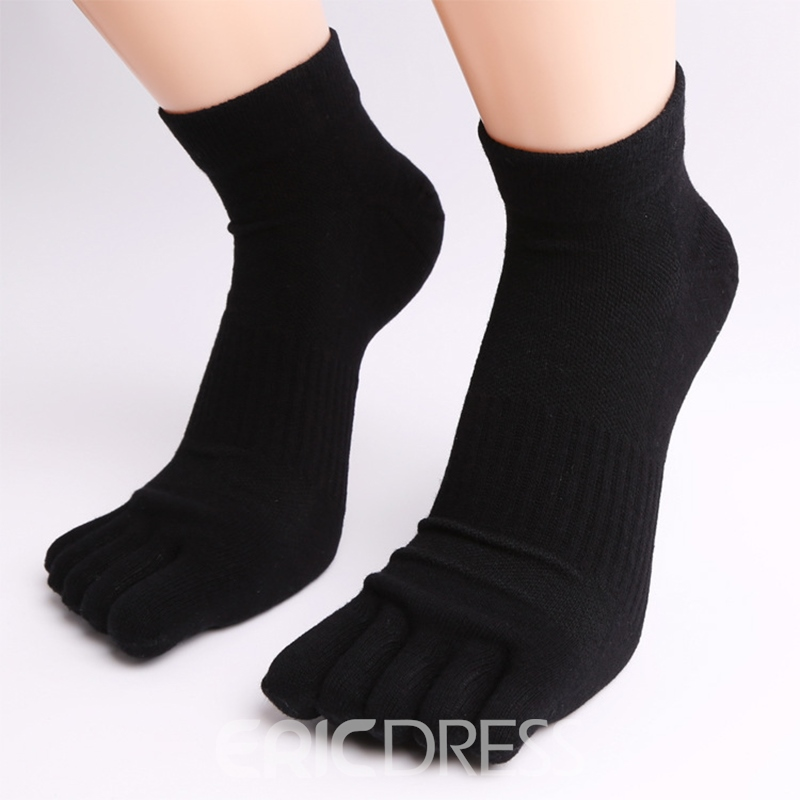 Ericdress Sport Free Size Five Toes Socks For Men