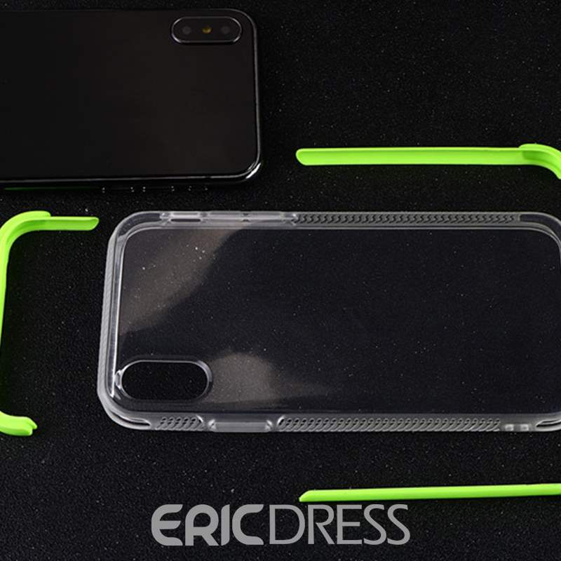 Ericdress Transparent Silica Gel Prevent Scratch Shockproof Protect Case Iphone X
