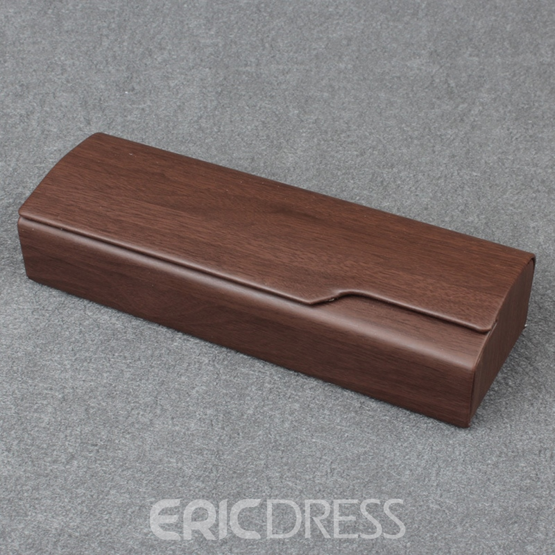 Ericdress Handmade Wood Glasses Case