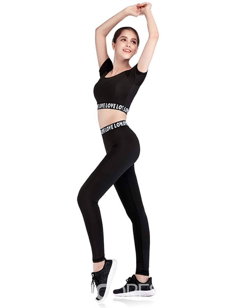 Ericdress Polyester Yoga Pullover Sports Sets