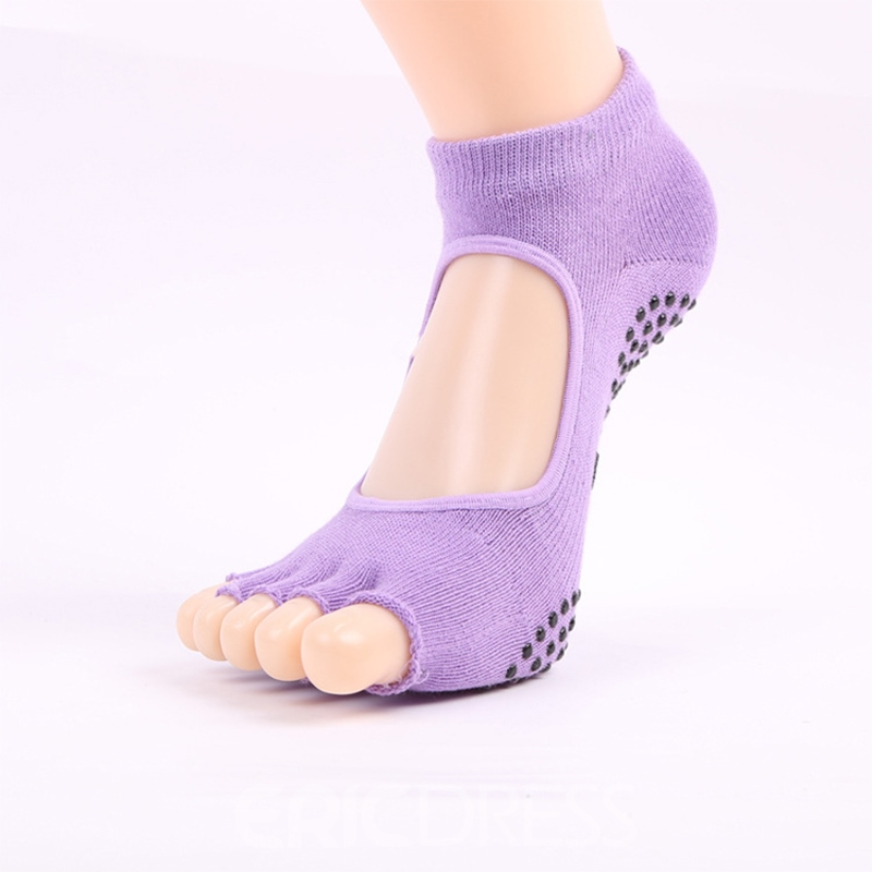 Ericdress Open-Toed Comfortable Free Size Yoga Socks