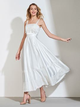 Ericdress A Line Straps Bridesmaid Dress
