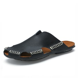 Ericdress Beach Sewing Slip-On Men's Sandals