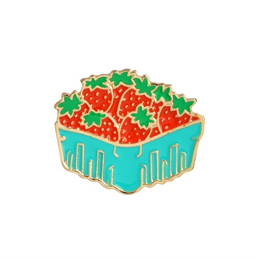 Ericdress Strawberry Brooches