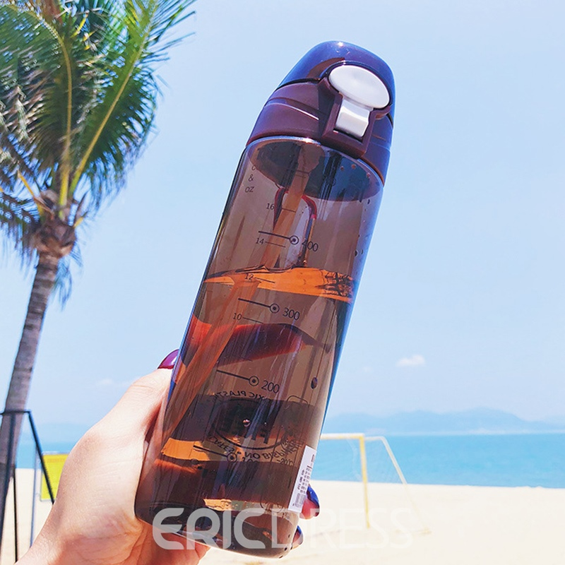 Ericdress Outdoor Sport Fitness PP Water Bottle