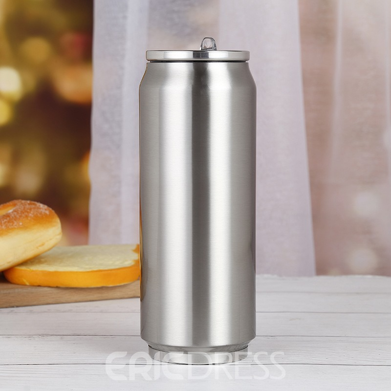 Ericdress Creative Gifts Stainless Steel 500ml Vacuum Cup