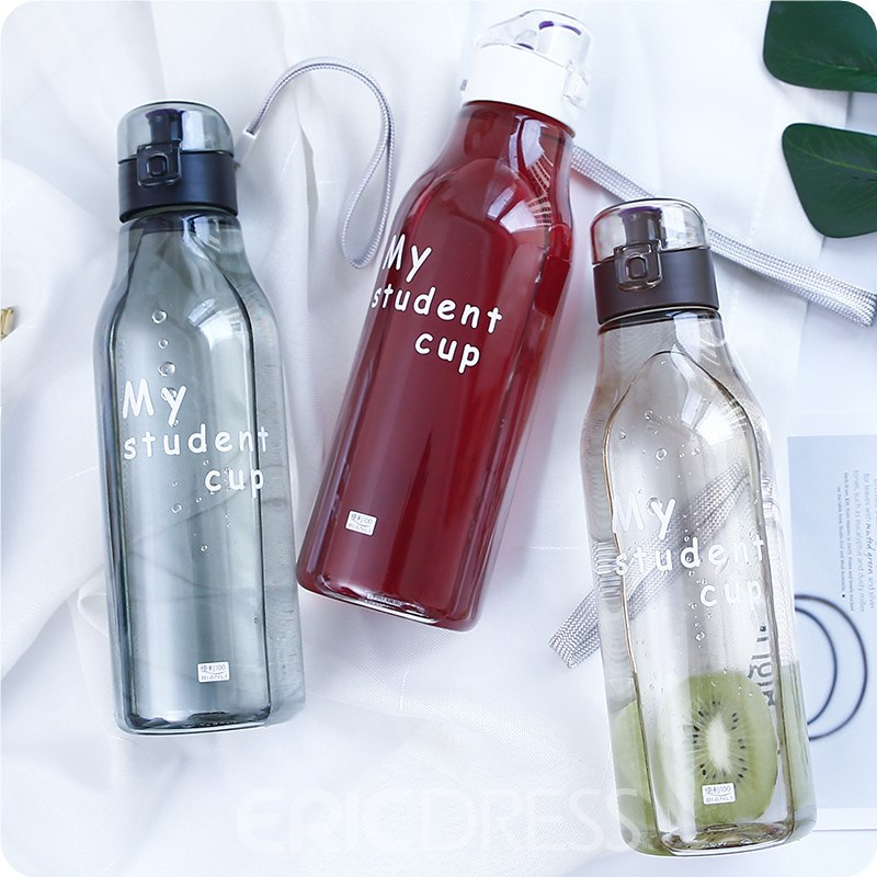Ericdress 520ml Printing Straw Cup