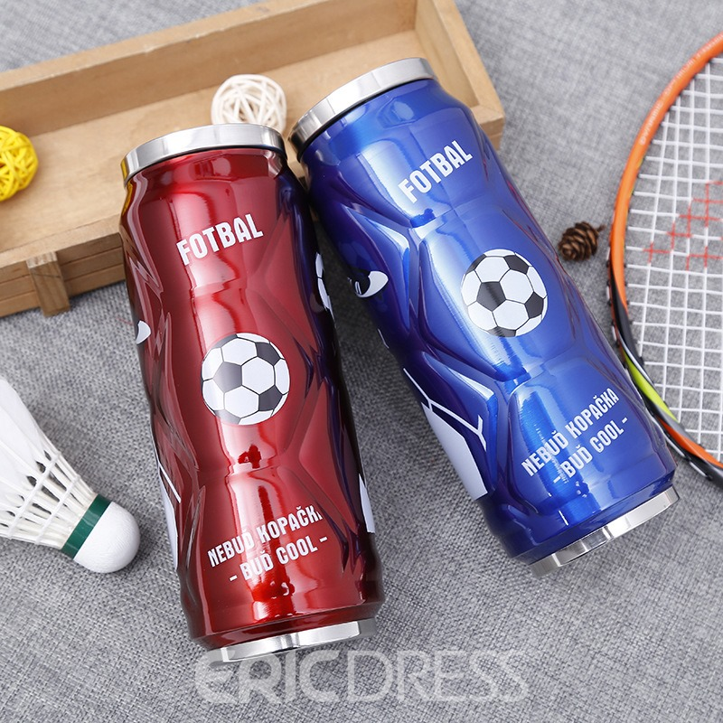 Ericdress 500ML Stainless Steel Cans Water Bottle