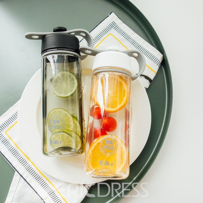 Ericdress PP Lover Portable 500ml Water Cup