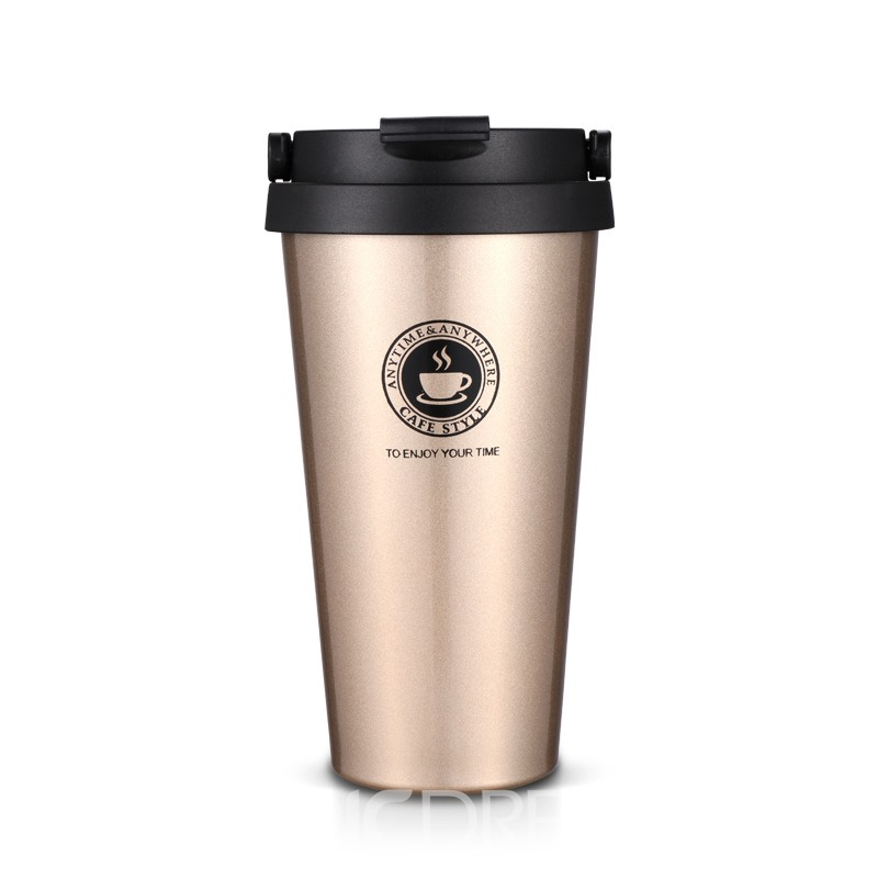 Ericdress Stainless Steel Coffee Sports Creative Gifts 500ML Water Cup
