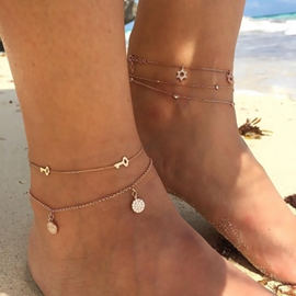 Ericdress Little Key Beach Summer Anklet For Women