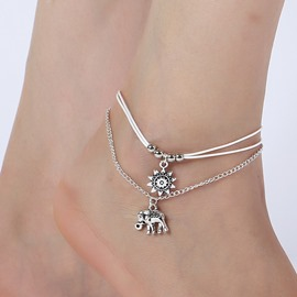 Ericdress Elephant&Sun Fashion Anklets For Women