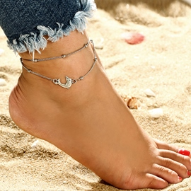 Ericdress Bohemian Style Dolphin Summer Beach Anklet For Women