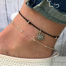 Ericdress Double Chain Apollo Summer Anklet For Women