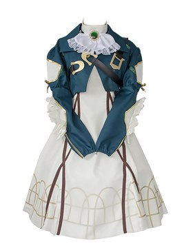 Ericdress Japanese Anime Costume Violet Eternal Garden Cosplay Dress