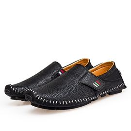 Ericdress PU Sewing Slip-On Plain Men's Loafers