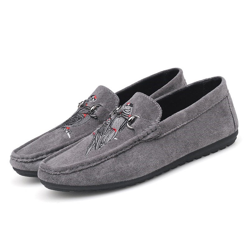 Ericdress Animal Embroidery Slip-On Men's Loafers