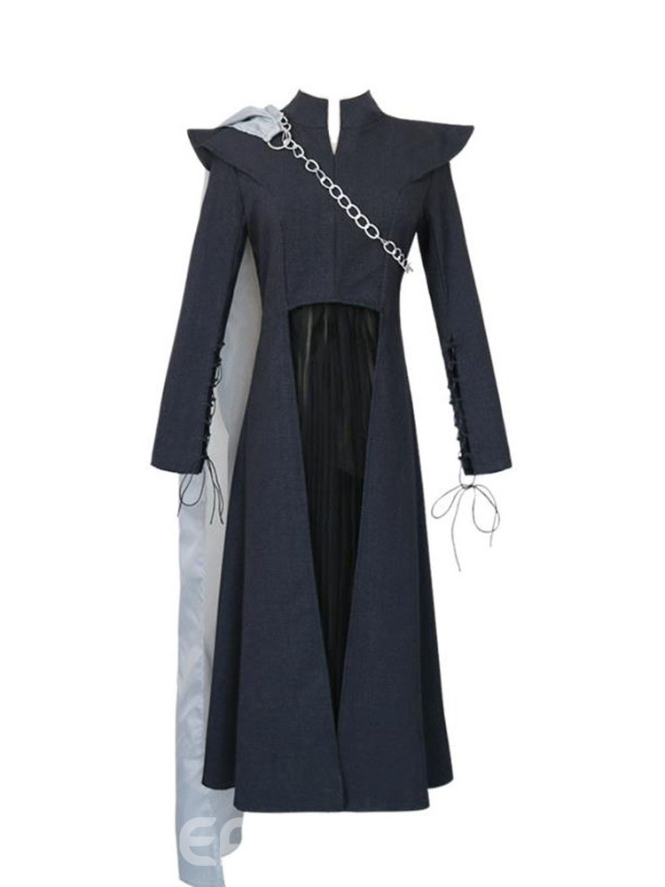Ericdress Game of Thrones VII Daenerys Targaryen Cosplay with Cloak