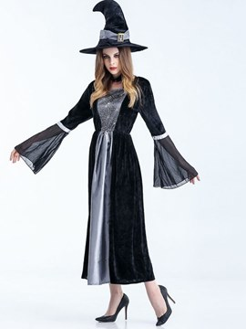 Ericdress Horrible Witch Cloak Cosplay Halloween Costume