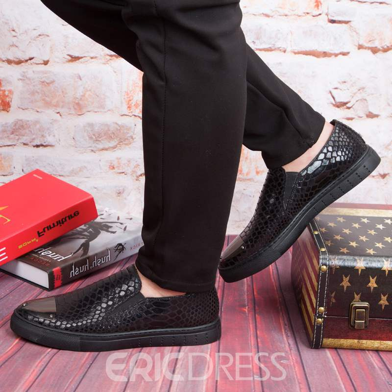 Ericdress PU Sequin Sewing Slip-On Men's Casual Shoes