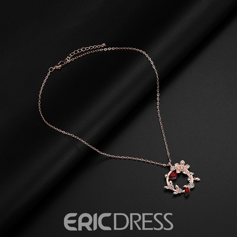 Ericdress Leaf&Floral Jewelry Set