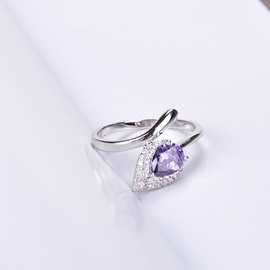 Ericdress WaterDrop Crystal Ring