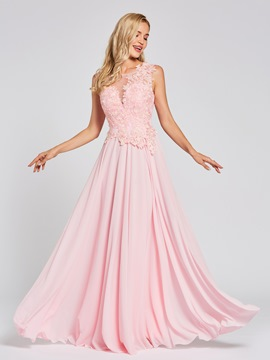 Ericdress Chiffon A Line Evening Dress
