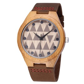 Ericdress Wooden Quartz Watch