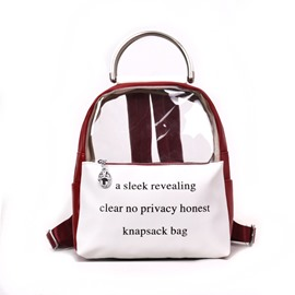 Ericdress Summer PVC Women Backpack