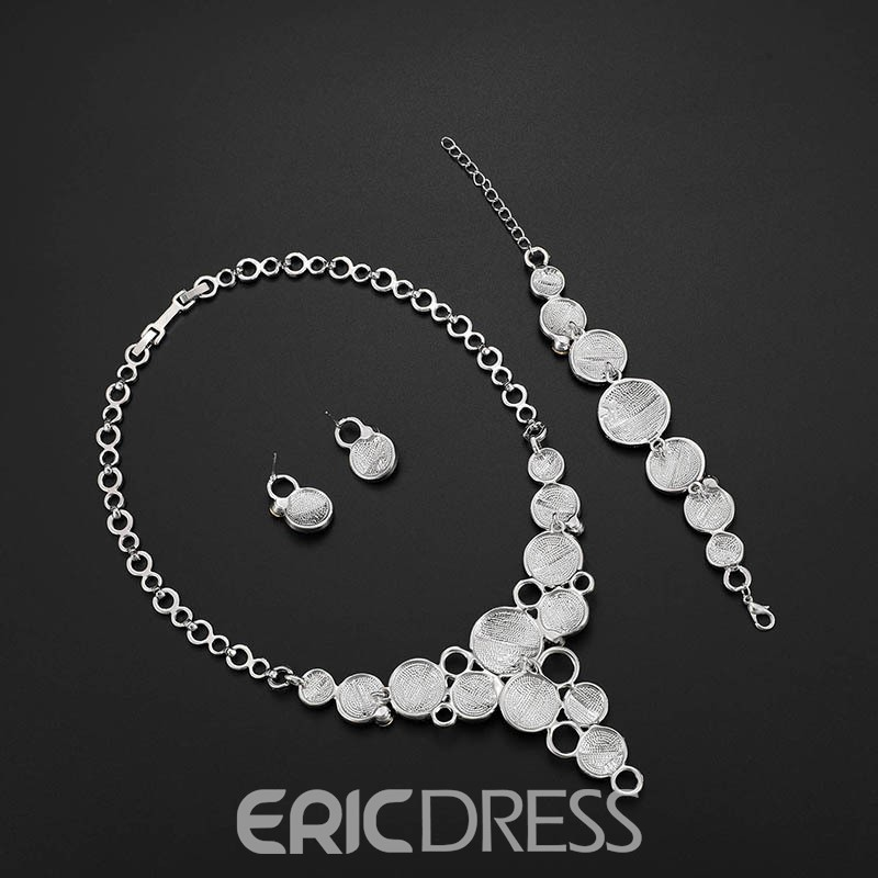 Ericdress Alloy Bicolourable Jewelry Set