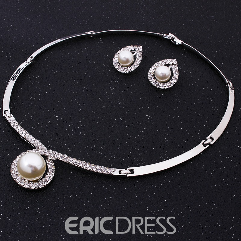 Ericdress One Pearl Jewelry Set