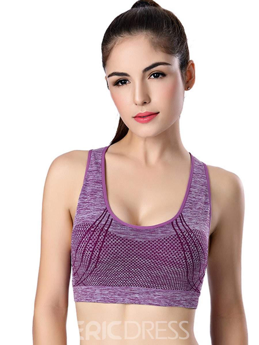 Ericdress Shockproof Chest Protector Seamless Sport Bra