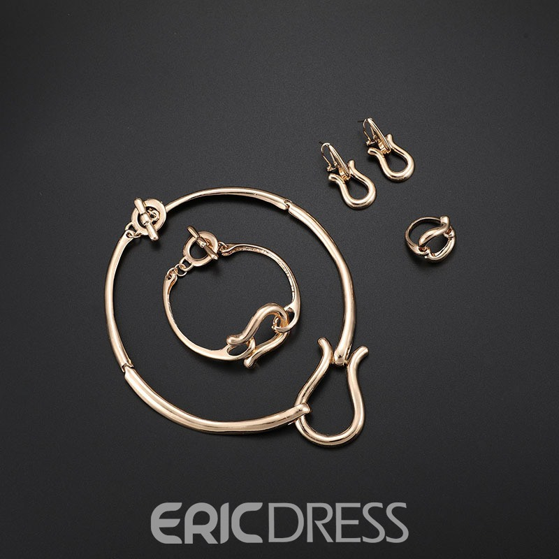 Ericdress Alloy Lock&You Jewelry Set