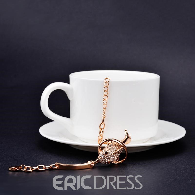 Ericdress Diamante Dolphin Fashion Bracelet
