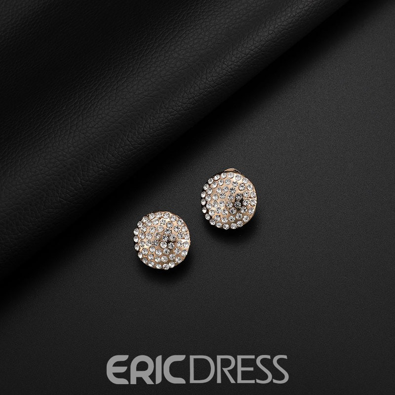 Ericdress Round Diamante Alloy Jewelry Set