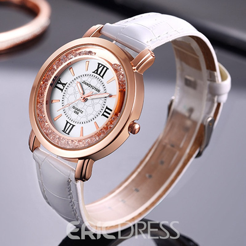 Ericdress JYY Leather Belt Lady Watch
