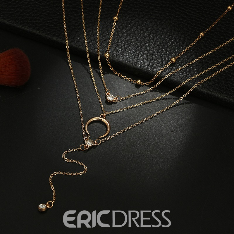 Ericdress Muses Moon Necklace
