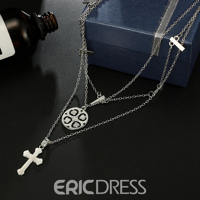 Ericdress Carving Charm Necklace